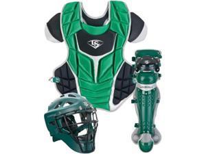 Louisville Slugger PGFPAS6 Dk Green /Black Series 7 Fastpitch Adult Catchers Set