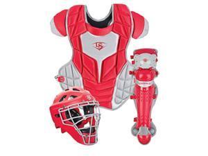 Louisville Slugger PGFPAS6 Red / Grey Series 7 Fastpitch Adult Catchers Set