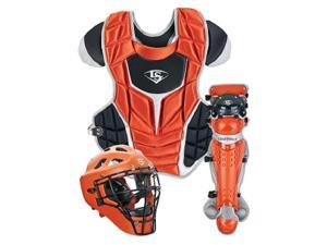 Louisville Slugger PGFPAS6 Burnt Orange Series 7 Fastpitch Adult Catchers Set