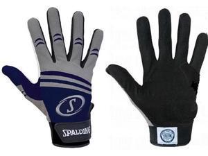 1 Pair Spalding Pro Series 3M XX-Large Navy / Grey Adult Batting Gloves New!