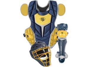 Louisville PGS514-STI Navy / Vegas Gold Intermediate Series 5 Catchers Set