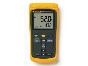 Fluke 52-2 Dual Input Digital Thermometer, 52 Series II&#59;  Types K, J, T, and E.