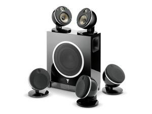 Focal Dome 5.1 and Sub Air Flax Theater System- Black