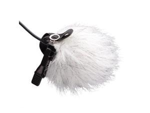 Movo WS10n Universal Furry Outdoor Microphone Windscreen Muff for All Lavalier Microphones Including Movo, Shure, Rode, Sony, Audio-Technica & More! (5 PACK)