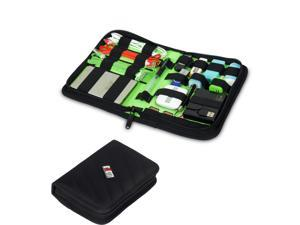 BUBM Black Universal Electronics Accessories Travel Organizer / Hard Drive Case / Cable Organizer-Small