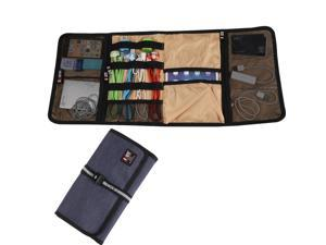 BUBM Universal Wrap Travel Gear Organizer / Electronics Accessories Bag / Battery Charger Case