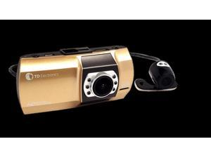 2nd Gen 1080P Dual DVR Dash Camera - 2 Cameras, 16 GB SD included, HDMI, G-Sensor & More