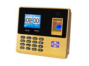 Aibao USB Recording Fingerprint Time Clock for Attendance Gold