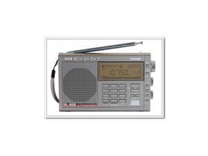 Tecsun PL-600 Portable Full Band FM MW SW SSB PLL Stereo Portable Digital Radio Receiver Grey