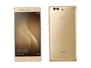 "Original Huawei P9 4G LTE Mobile Phone Kirin 955 Octa Core Android 6.0 5.2"" FHD 1080P 4GB RAM 64GB ROM 12.0MP Camera  Gold"