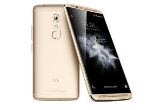 "Original ZTE Axon 7 A2017 Snapdragon 820 MSM8996 Quad Core 2.15GHz 20.0MP 5.5"" Mobile Phone 4GB RAM 64GB ROM Fingerprint Gold"
