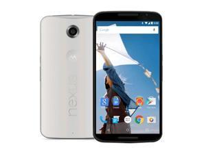 Motorola Nexus 6 XT1103 32GB Unlocked GSM 4G LTE Android Smartphone White