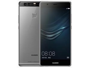 Original Huawei P9 Plus VIE-AL10 4GB RAM 64GB ROM Cell Phone Android 6.0 Kirin 955 Octa Core 5.5 inch Dual SIM LTE 12.0MP Grey