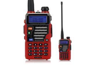 Baofeng Red UV-5RE Plus 128CH Dual band UHF+VHF FM VOX DTMF Walkie Talkies