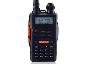 Baofeng Black UV-5R 5th Generation 136-174/400-520mHZ Two Way Radio Professional FM Transceiver Walkie Talkies