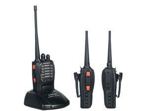 Baofeng BF-758A Black 6W Dual-Band 400 ~ 480MHz FM Ham Two-way Portable Radio Transceiver Walkie Talkie