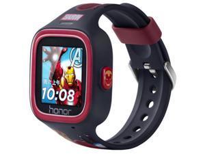 Huawei Honor Little K Smart Watch Original Waterproof Cute Children Kids Phone Call Smart Watch With GPS Bluetooth SOS(Iron man Black)