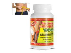 MaritzMayer All-Natural Garcinia Cambogia 1300 with 60-Percent HCA, 3-Pack, 60 Capsules Each