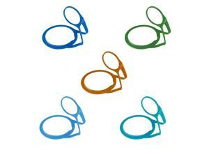 Camelbak Chute cap tether - replacement lid tether - 5 colour multipack