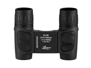 Luger LR 6x18 Compact Roof Binoculars 118-618-1