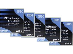 IBM Ultrium 6 Data Cartridge (5-Pack)