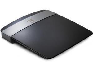 Linksys E2500 Wi-Fi Ethernet LAN connection Dual-band Black