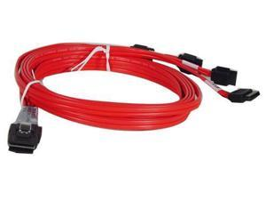 LSI Model LSI00259 1.97 ft. SAS to SATA Cable