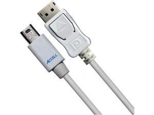Accell Mini DisplayPort to DisplayPort, m/m, 2m