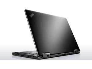 "ThinkPad Yoga 12 Laptop Intel Core i3 5005U (2.0 GHz) 500 GB HDD 16 GB SSD Intel HD Graphics 5500 Shared memory 12.5"" Touchscreen Windows 8.1 Pro 64-Bit"