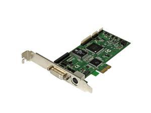 StarTech High-definition PCIe capture card – HDMI VGA DVI & component – 1080P at 60 FPS