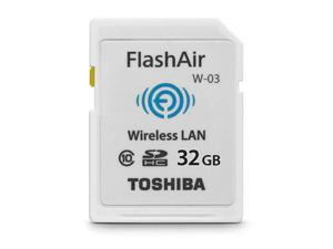 Toshiba FlashAir III 32GB Wireless SD Card PFW032U-1CCW