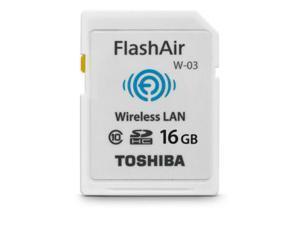 Toshiba FlashAir III 16GB Wireless SD Card PFW016U-1CCW