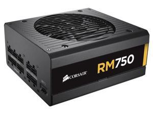 Corsair CP-9020055-NA Corsair RM Series RM750 - 750 Watt 80 PLUS Gold Certified Fully Modular PSU - 110 V AC, 220 V AC Input Voltage - Internal - Modular - ATI CrossFire Supported - NVIDIA SLI