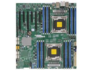 Supermicro X10DAX-B Dual LGA2011/ Intel C612/ DDR4/ SATA3&USB3.0/ A&2GbE/ EATX Server Motherboard
