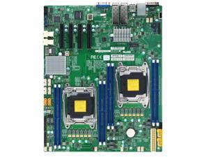 Supermicro X10DRD-INTP-O Dual LGA2011/ Intel C612/ DDR4/ SATA3/ V&2GbE/ EATX Server Motherboard