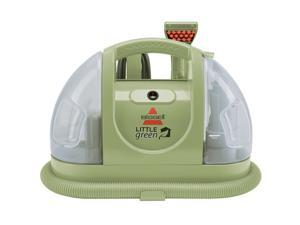 Refurbished: Bissell Little Green Compact Multipurpose Carpet Cleaner Vacuum w/ Powered TurboBrush Hand Tool