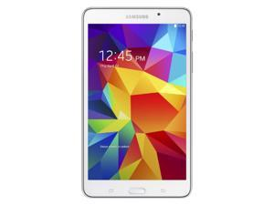 "Samsung Galaxy Tab 4 SM-T230 7"" 8 GB Tablet - Wireless LAN - Quad-Core 1.20 GHz - 1.5 GB RAM - Android 4.4 KitKat - White"