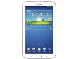 Samsung Galaxy Tab 3 (7-Inch, White) 2013 Model SM-T210RZWYXAR 8 GB