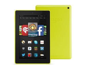 "Fire HD 7, 7"" HD Display, Wi-Fi, 8 GB - Includes Special Offers, Citron"