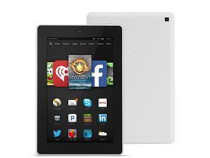 "Fire HD 7, 7"" HD Display, Wi-Fi, 8 GB - Includes Special Offers, White"
