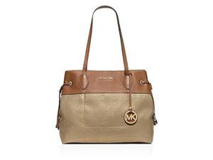 MICHAEL Michael Kors Marina North South Large Drawstring Tote (Gold)