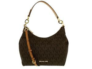 MICHAEL Michael Kors Isabella Medium Convertible Shoulder Bag (Signature Brown)