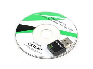 EDUP EP-N1528 Mini 300mbps USB 2.0 Port Wireless Network Adapter 802.11 n/g/b Support Window Xp, Vista, Linux and MAC Os X