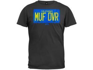 Cheech and Chong - MUF DVR License Plate T-Shirt