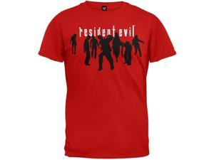 Resident Evil - Zombie Silhouettes Red T-Shirt