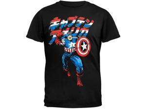 Captain America - Japanese T-Shirt