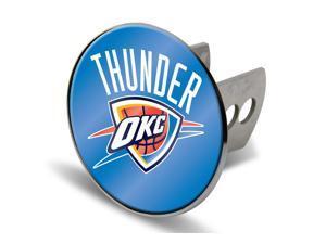 Oklahoma City Thunder Laser Logo Hitch Cover