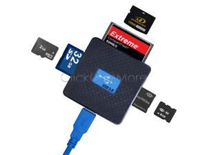 USB 3.0 High Speed Micro SD TF CF XD M2 MS Multi Memory Card Reader