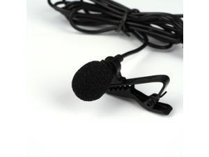 Deluxe Lavalier Mic Lapel Microphone Clip-on Omnidirectional Condenser