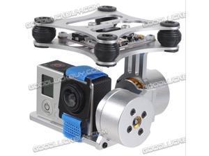 DJI Phantom Gopro 3 4 xiaoyi Camera Brushless Gimbal with Motors & Controller
